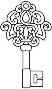coloring page lock and key key clipart colouring page pencil and in color key