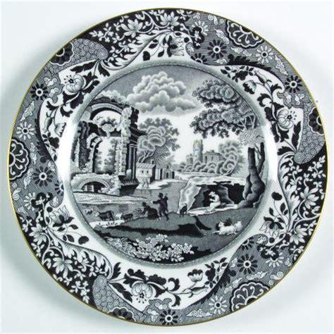 black pattern dinnerware spode black italian at replacements ltd