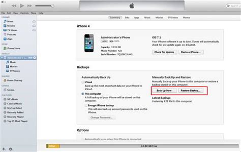 what does backup on iphone how to restore iphone from itunes and icloud backup