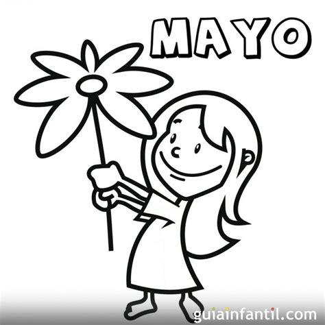 dibujos para colorear del 10 de mayo mes de mayo de 2016 para colorear calendario de 2016