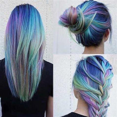 Colored Hairstyles by 25 Colored Hairstyles Hairstyles 2016 2017