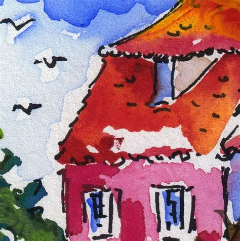 house painters charleston sc pink house charleston south carolina original aceo painting by ginette callaway