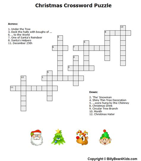 christmas tree decoration crossword christmas lights