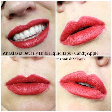 Beverly Liquid Lipstick Apple New beverly liquid apple anoushka
