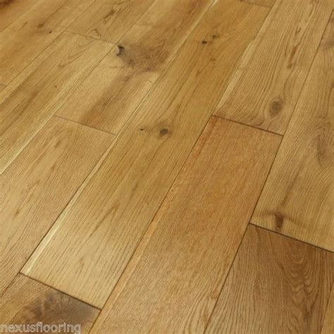 solid oak brushed oiled real wood wooden floor hardwood flooring ebay