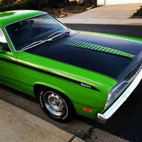 plymouth duster twister 1971, matching numbers a51 code