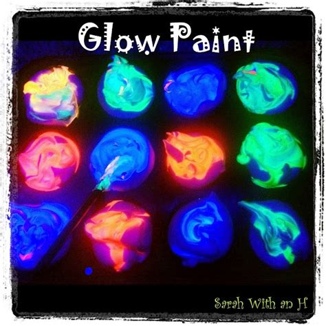 how to make glow in the paint without glow powder 17 best images about glow in the on