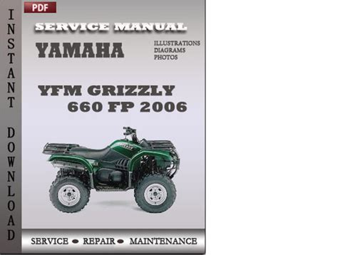 Free Yamaha Grizzly 700 2007 To 2008 Service Manual