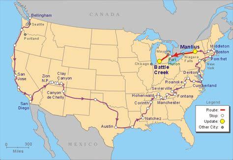 america map niagara falls niagara falls