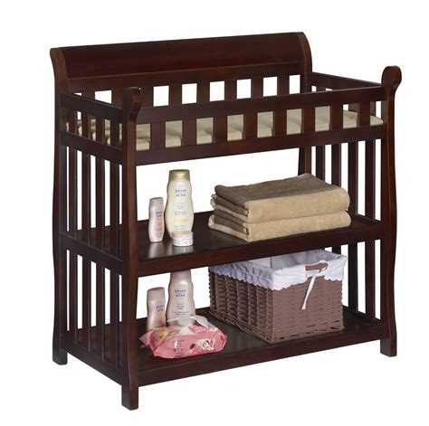 Delta Children Vintage Espresso Eclipse Changing Table Sears Child Changing Table
