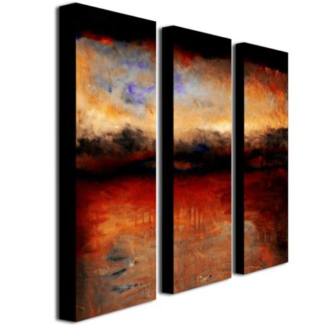 3 Painting Set by Trademark Skies At By Calkins