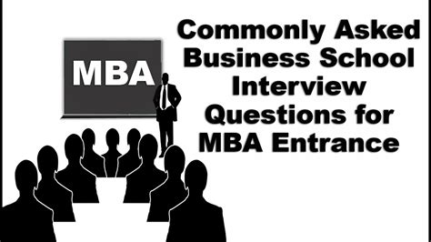 Usc Mba Percentage Interviewed by Commonly Asked Business School Questions For Mba