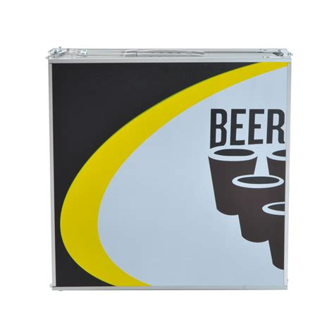 foldable beer pong outsunny 7 9 ft portable 4 section folding beer pong