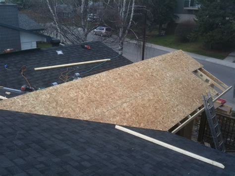 Attaching Patio Roof To Existing Roof by Tying A Patio Roof Into Existing House Carpentry