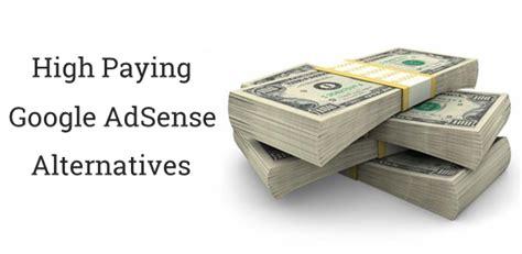 Adsense Alternatif   top 20 google adsense alternatives high paying