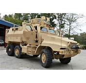 US Military Equipping Local Police With War Zone Armored