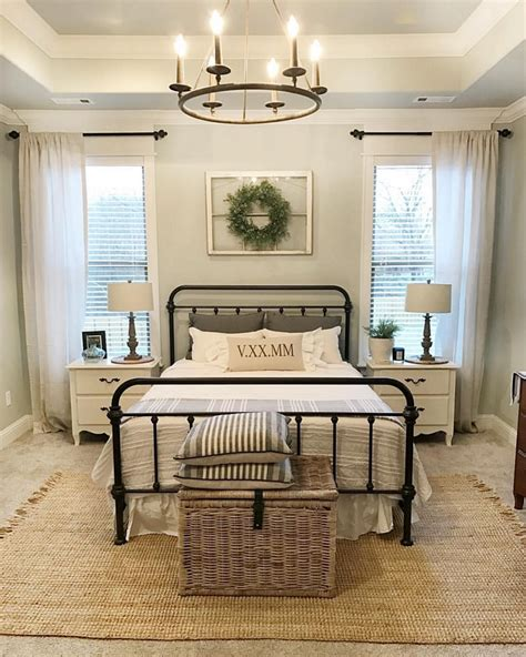 cozy farmhouse master bedroom design ideas 901 fres hoom