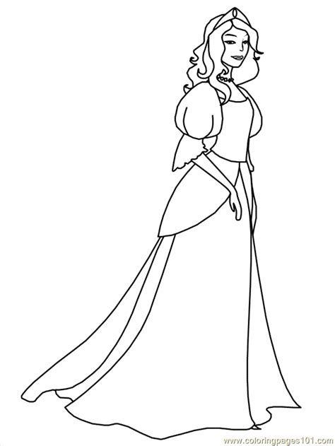Medieval Princess Coloring Pages | free coloring pages of medieval town