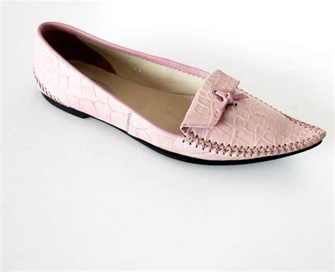 cer loafers tod s crocodile skin moccassin loafer at 1stdibs