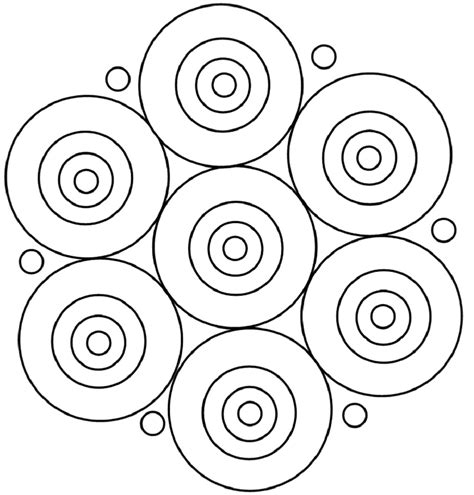 simple pattern colouring pattern a round mandala coloring pages mandala coloring