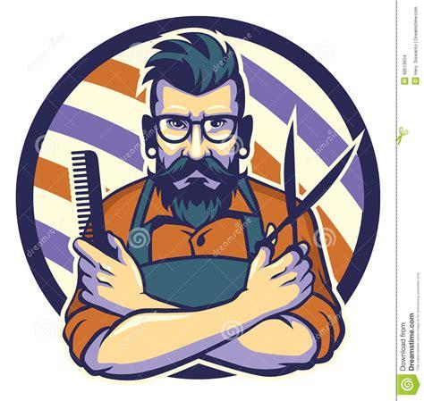 imagenes de up art the hairstylist stock vector image of grooming gentleman