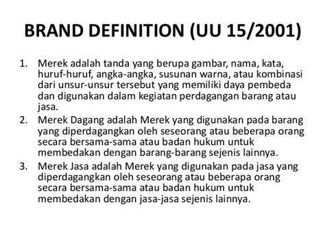 introduction to brand management