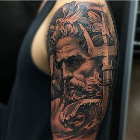 poseidon tattoo meaning best 25 poseidon ideas on