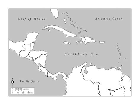 map outline of central america the world s catalog of ideas