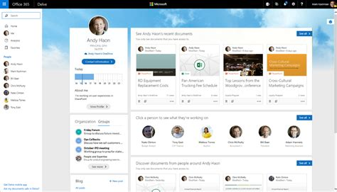 Profile Finder Connect To Expertise And Content With New Experiences Throughout Office 365