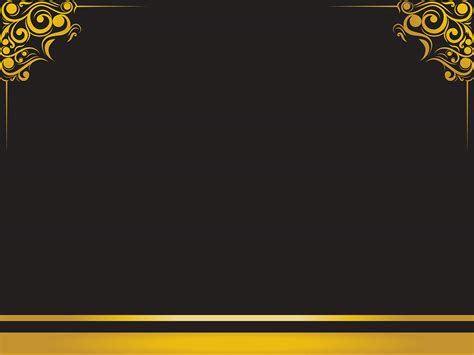 powerpoint templates with borders luxury frame backgrounds black border frames yellow