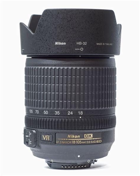 Lensa Nikkor 18 105mm Vr file af s dx nikkor 18 105mm f3 5 5 6g ed vr 30 07 2012 1 jpg wikimedia commons