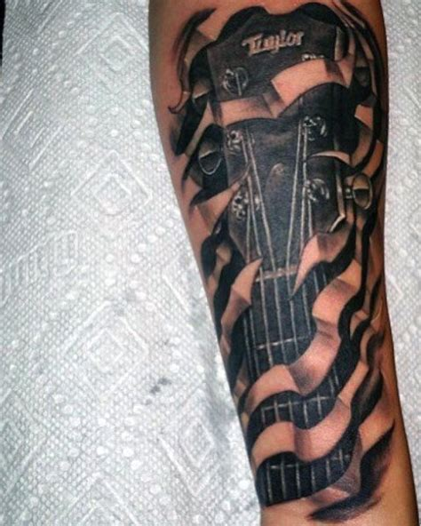 acoustic guitar tattoos acoustic guitar www pixshark images