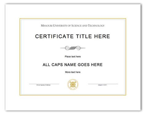 certificate template on word award certificate template microsoft word quotes