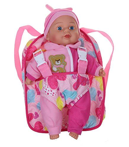 Ergobaby Take Along Mini Backpack by 13 Soft Baby Doll With Take Along Pink Doll Backpack