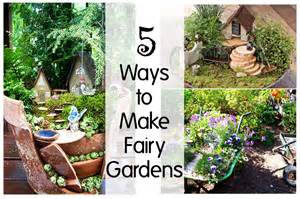 5 ways to make gardens