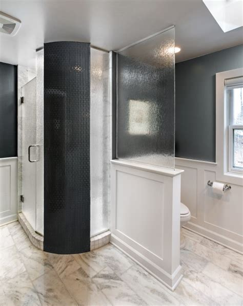 timeless black and white master bathroom makeover timeless master bathroom remodel porch advice