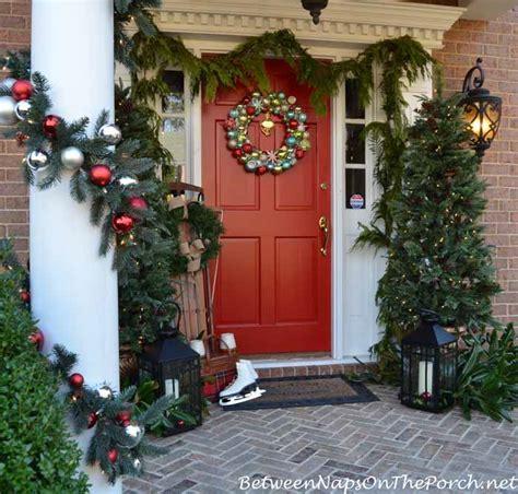 martha stewart xmas decorating ideas outdoor porch decorating ideas