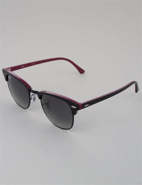 Jual Rayban Clubmaster Black ban clubmaster sunglasses top black black grey gradient accessories from