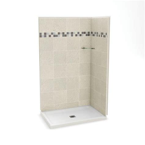 32 Inch Corner Shower Stall Maax Utile 32 Inch X 48 Inch Corner Shower Stall In