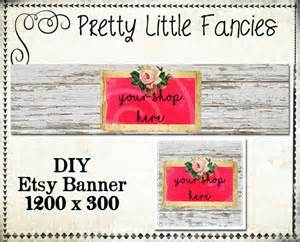 Etsy Banner Templates by Etsy Shop Banner Diy Banner Template Premade Etsy Store Large