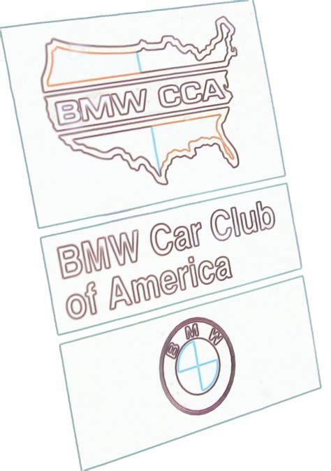 bmw cca sticker cca sticker b 171 patroon bmw cca