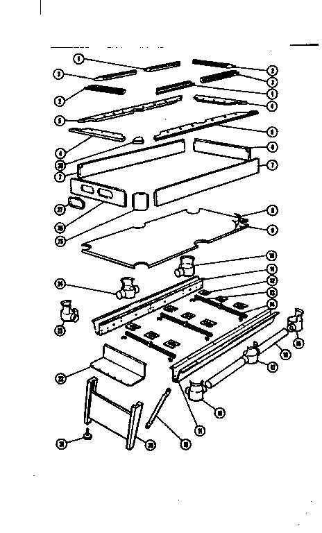pool table parts diagram sears brandywine iv home pool table parts model 85425848