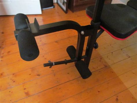 maximuscle ultimate workout bench like new maximuscle workout bench with 35kg weights for