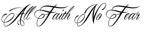 tattoo font mardian all faith no fear tattoo mardian font tattoos