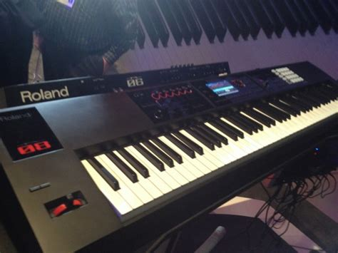 Keyboard Roland Fa 08 Live From Namm Roland Fa Workstation Keyboards
