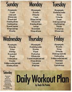 daily workout plan for at home the best daily workout routines top health remedies