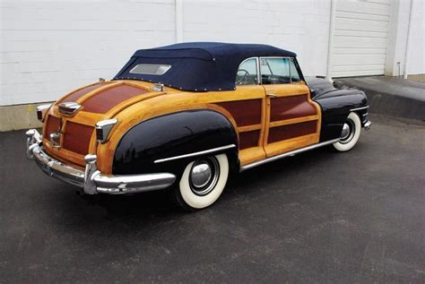 1948 Chrysler Town And Country by 1948 Chrysler Town And Country Convertible Coupe Heacock