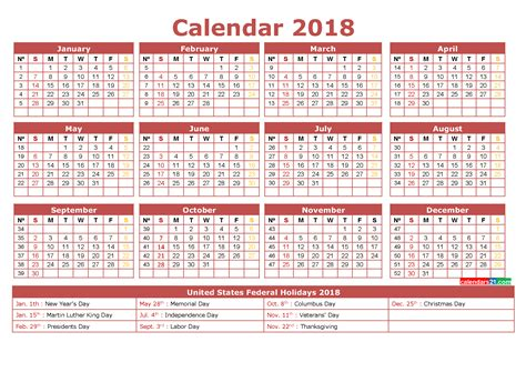 printable one page 2018 calendar 2018 calendar printable 12 month in one page calendar