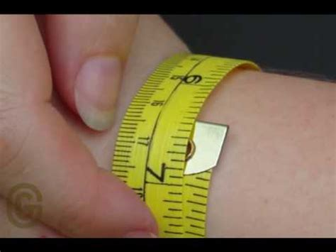 How to measure the length for a Pandora Bracelet   YouTube
