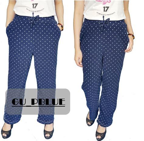 Celana Tidur 1 buy buy 1 get 1 celana panjang wanita santai celana panjang tidur banyak pilihan model dan